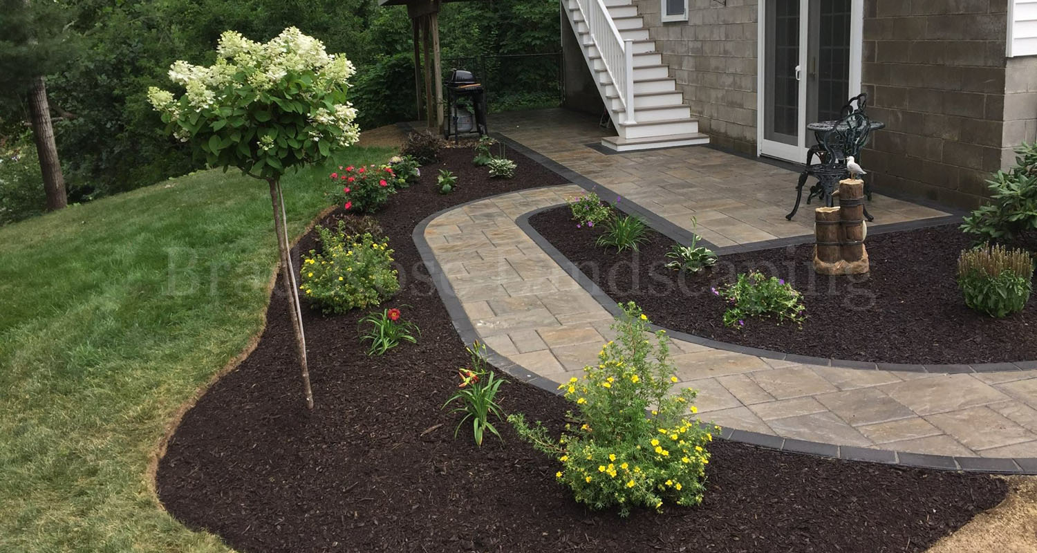 Stone Path Mulch